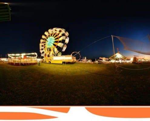 Panoramic Photography at the fair
