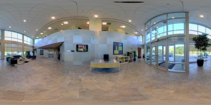 Panorama of a Lobby