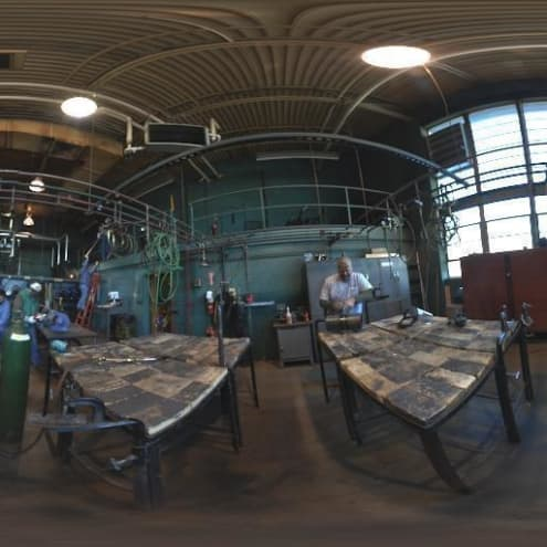 Panorama of a Welding Location
