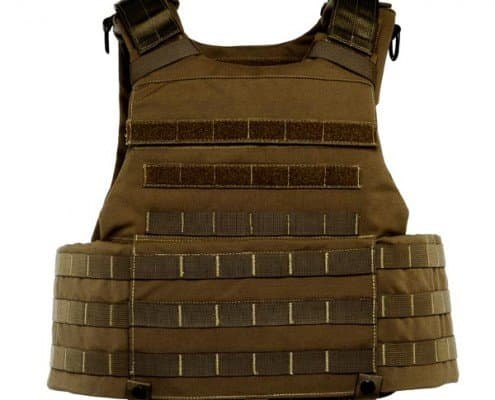 3d view of Body Armor