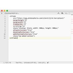 Addit Code Screen
